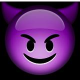 Gülen iblis ifadesi