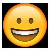 Gülümseyen ifadesi