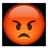 Öfkeli ifadesi