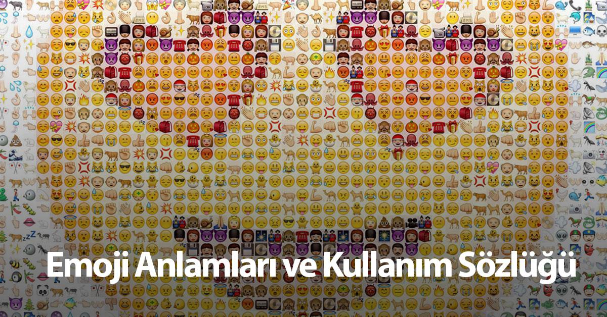 Emoji Anlamları Ve Kullanım Sözlüğü Emoji