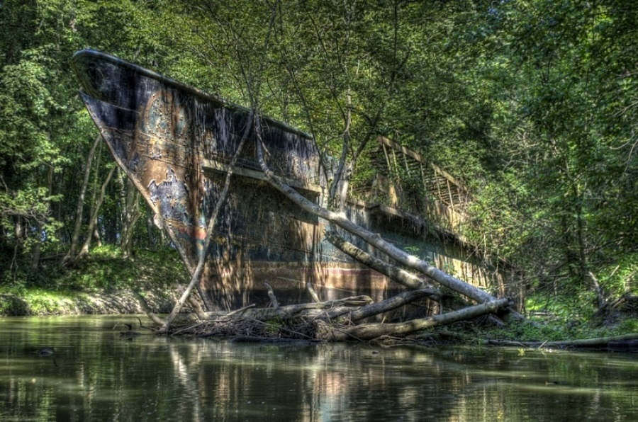 batık gemi fotoğrafı