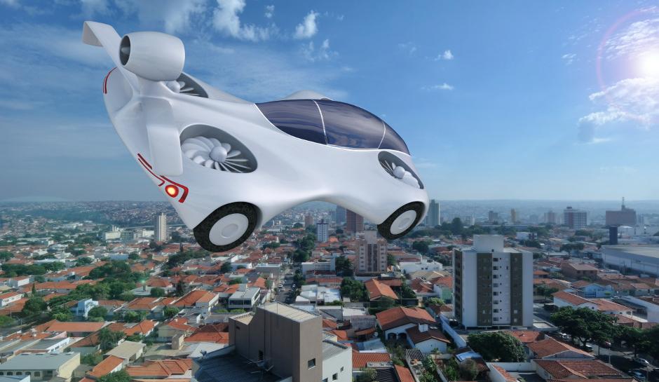 Image result for uçan araba