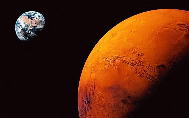 Mars'da Yaşayacak Olan İnsanlar Evrim Geçirecekler