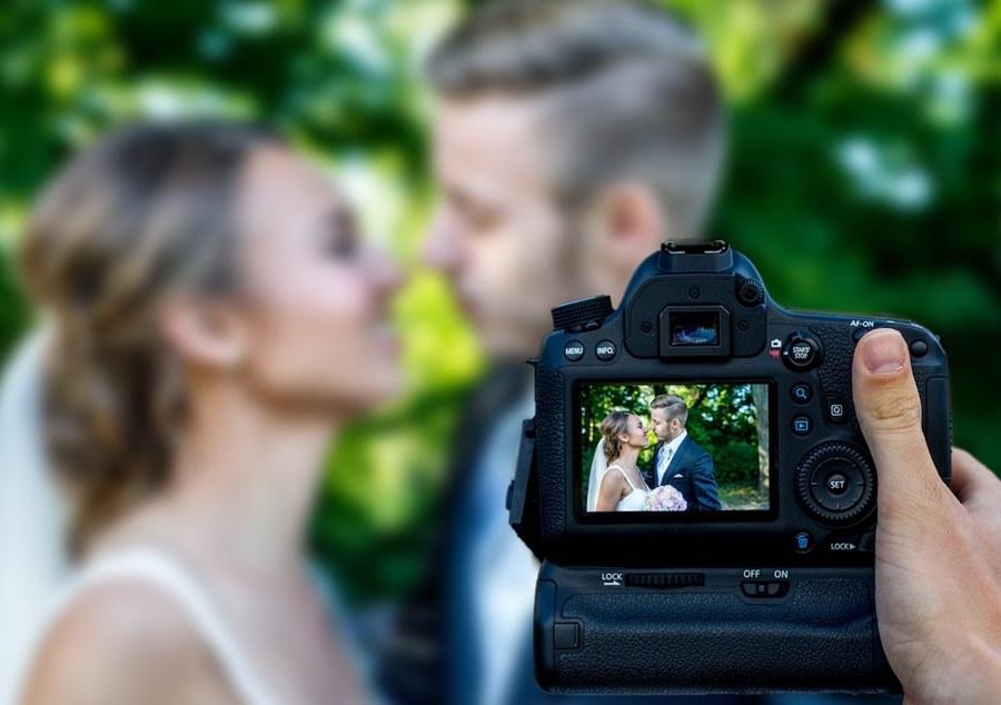 düğün - fotoğraf makinesi