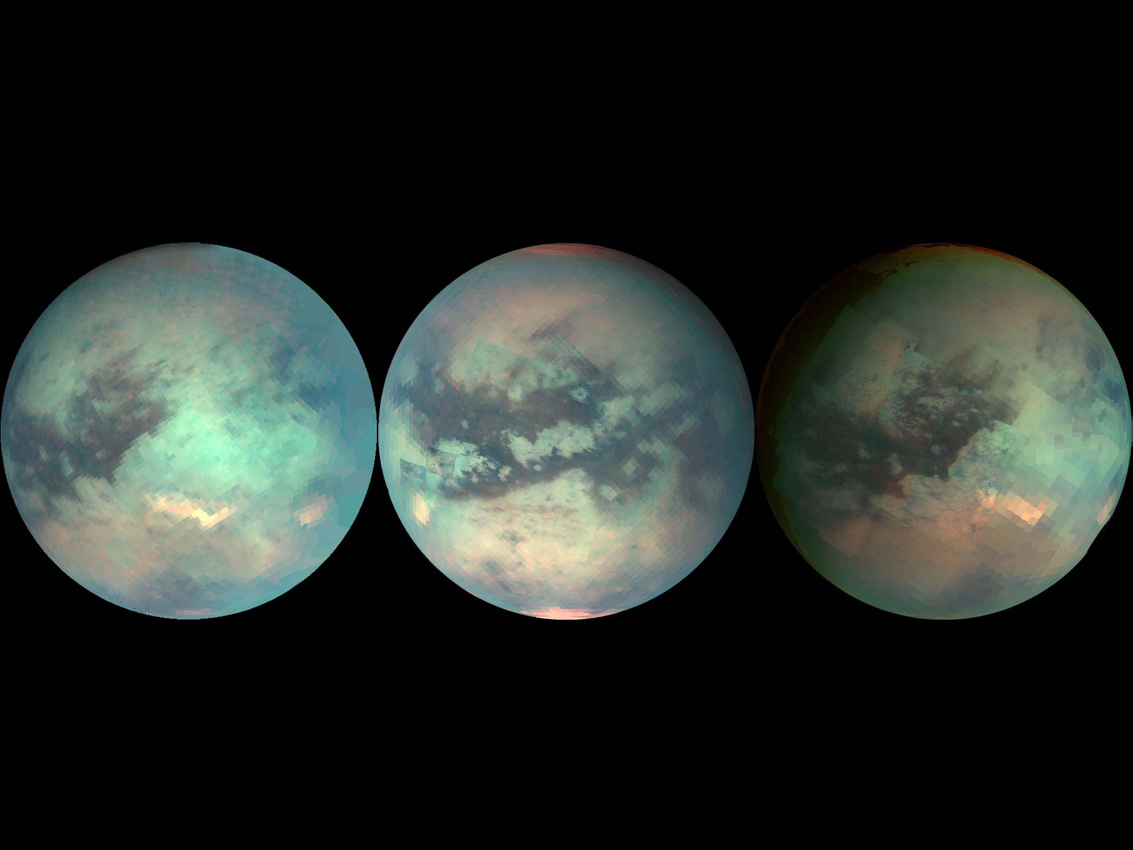 Titan Satürnün uydusu
