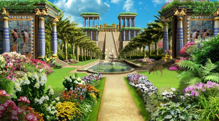 Babil 39 in asma bah eleri bir efsane mi bir mimari for Los jardines de la cartuja