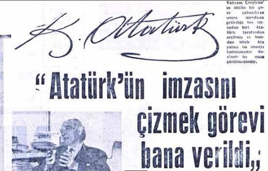 Atatürkün Meşhur Imzasının Az Insan Tarafından Bilinen şaşırtıcı