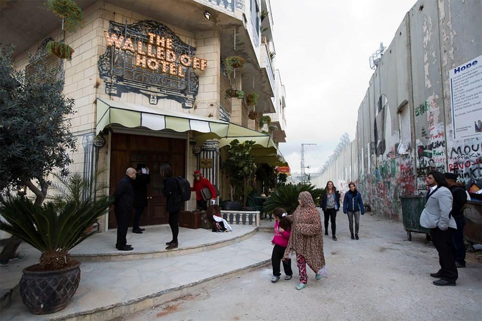 Banksy Filistin'de Otel