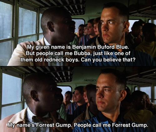 benim adım forrest gump